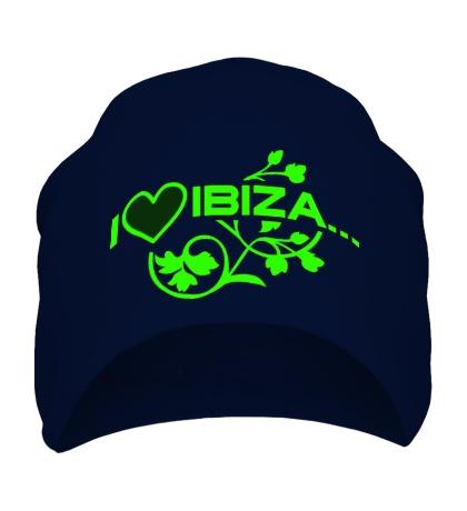 Шапка I love Ibiza Glow