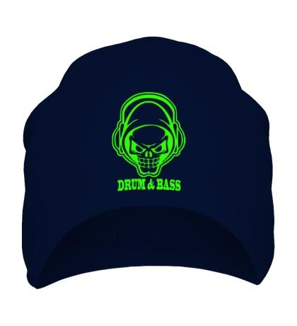 Шапка Drum & Bass Skull Glow