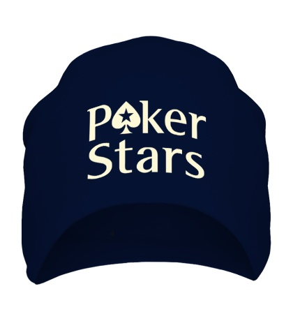 Шапка Poker Stars Glow