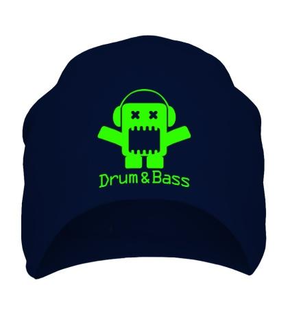 Шапка Drum & Bass Box Glow