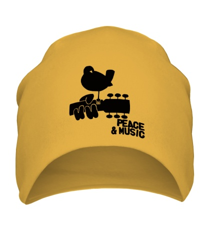 Шапка Peace & Music