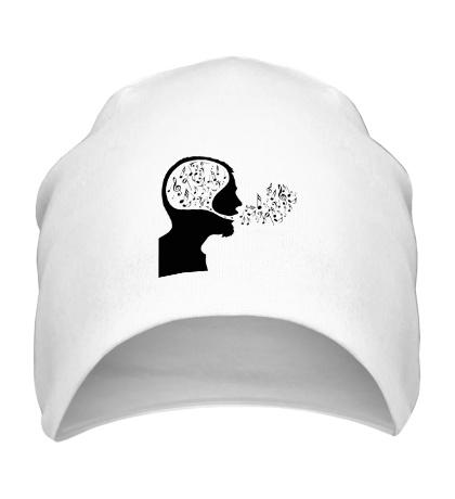 Шапка Ноты в голове