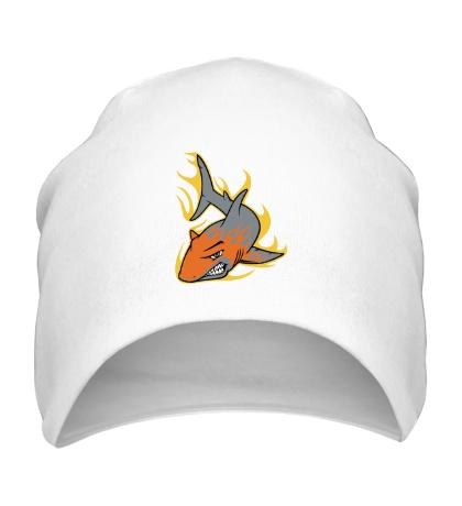 Шапка Огненная акула