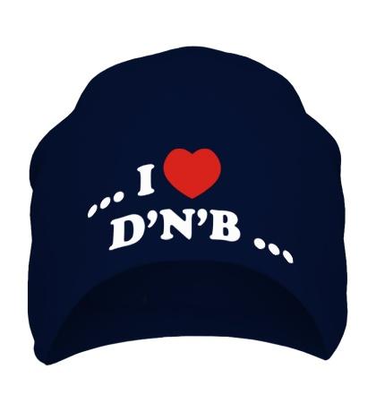 Шапка I Love DnB