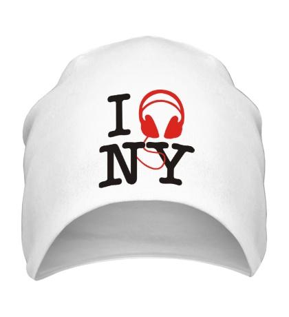 Шапка I love new york