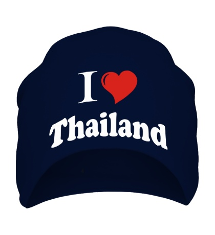 Шапка I love thailand