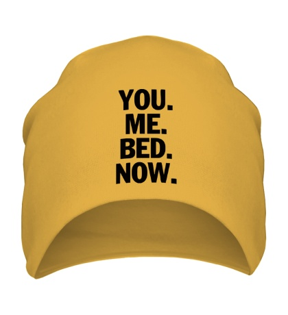 Шапка You Me Bed Now