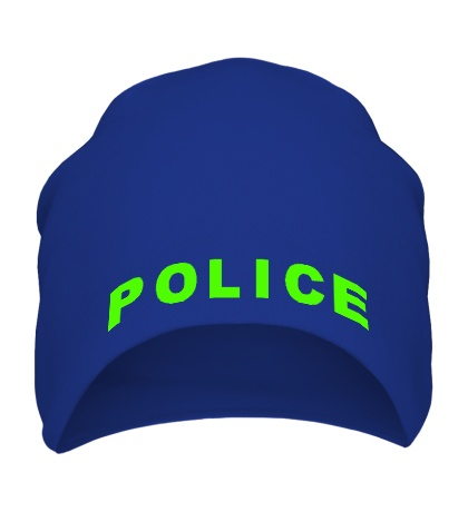 Шапка Police Glow