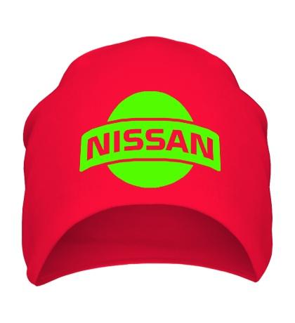Шапка Nissan Logo Glow