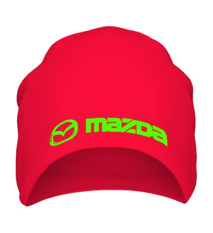 Шапка Mazda Line Glow
