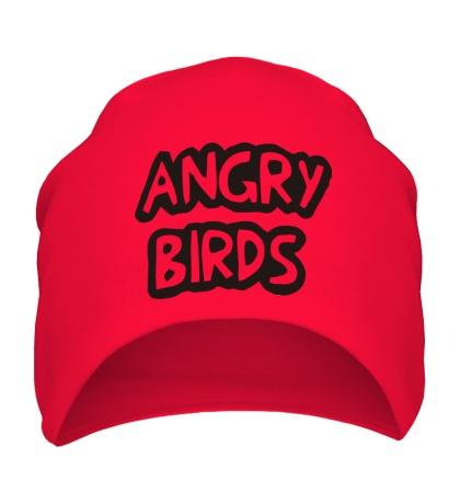 Шапка Angry Birds Sign
