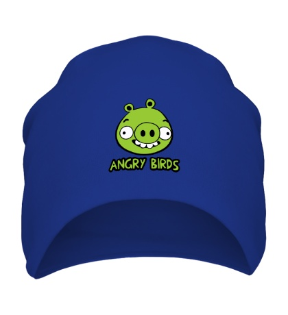 Шапка Anrgy Birds: Green Pig