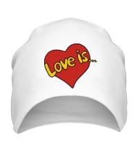 Шапка Love is