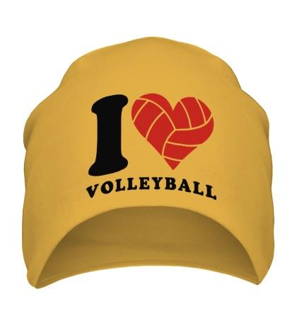 Шапка I Love Volleyball