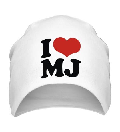 Шапка I Love MJ