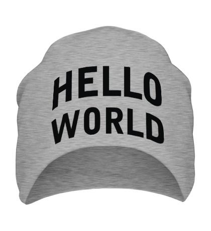 Шапка Hello World