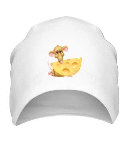 Шапка Мышка с сыром