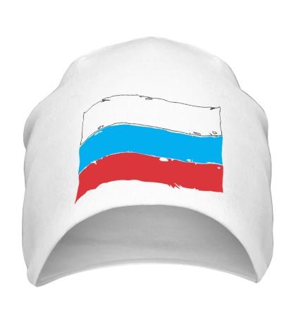 Шапка Российский флаг