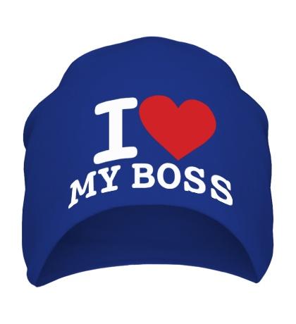 Шапка I love my Boss