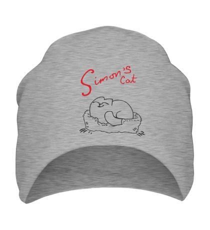 Шапка Simons Cat Sleep