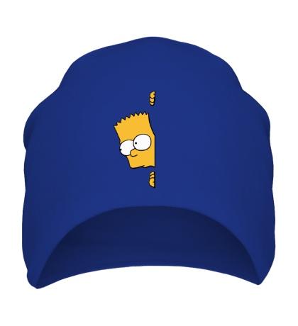 Шапка Барт подглядывает