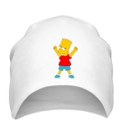 Шапка Маленький Барт Симпсон