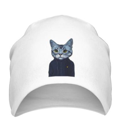 Шапка Спортивный кот