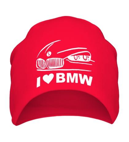 Шапка I love BMW