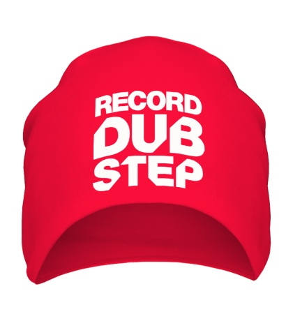 Шапка Record Dubstep