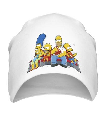 Шапка Симпсоны в кинотеатре