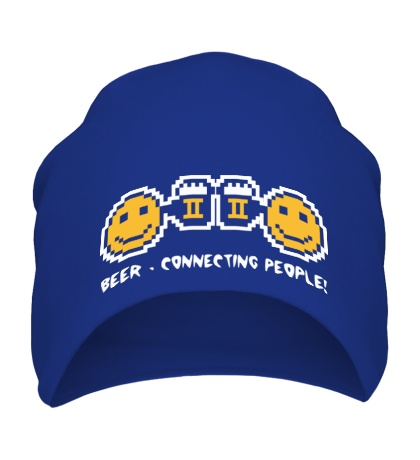 Шапка Beer, connecting people