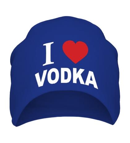 Шапка I love vodka