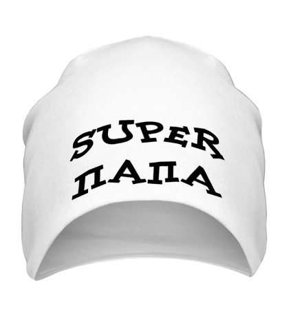 Шапка Super папа