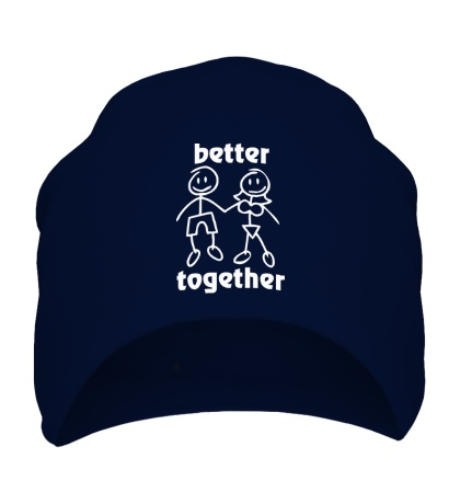 Шапка Better together
