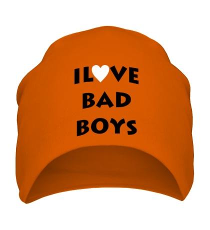 Шапка I love bad boys