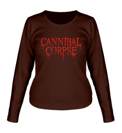 Женский лонгслив Cannibal Corpse
