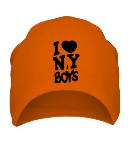 Шапка I love New York Boys