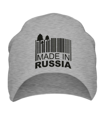 Шапка Made in Russia: Barcode