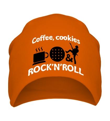 Шапка Coffee, cookies, Rock-n-Roll