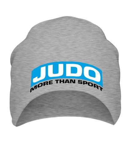 Шапка Judo more then sport