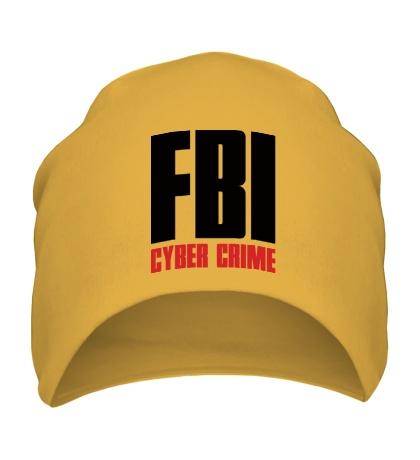 Шапка FBI Cyber Crime