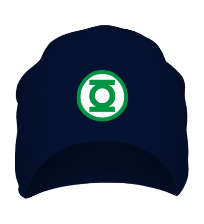Шапка Зелёный Фонарь