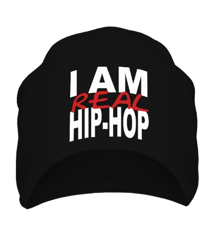 Шапка I am real hip-hop