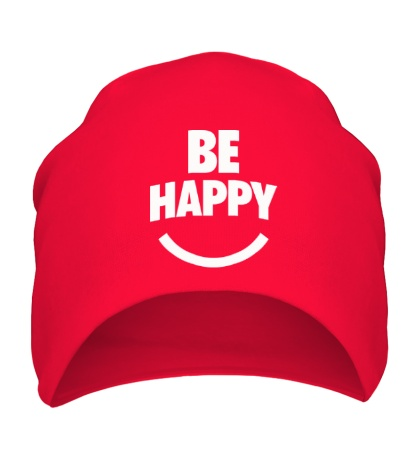 Шапка Be Happy