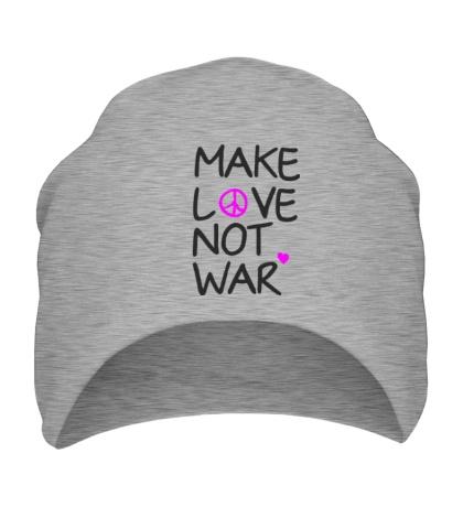 Шапка Make love not war
