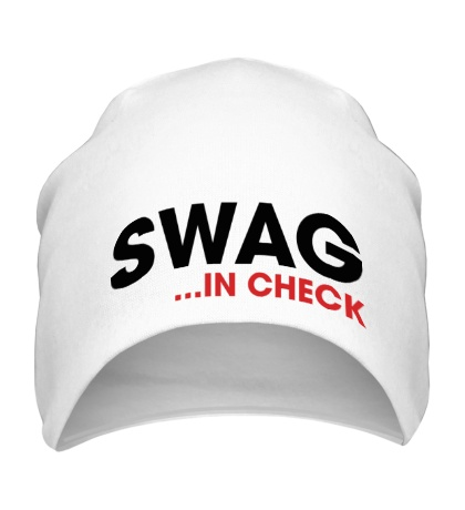 Шапка Swag in Check
