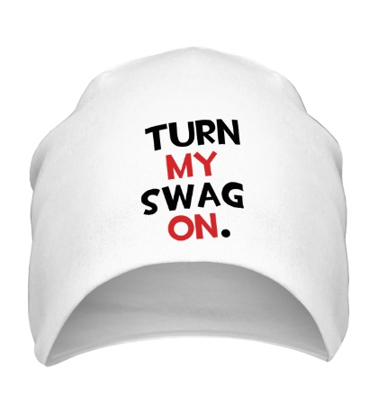 Шапка Turn my Swag on