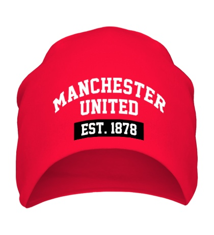 Шапка FC Manchester United Est. 1878