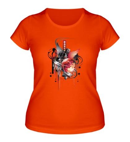 Женская футболка Dance for you