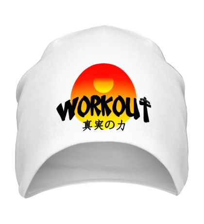 Шапка WorkOut Sunset